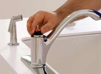 fixing leaky faucet kitchen sink how to fix a leaky kitchen faucet in seven simple steps 8945