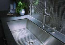Wide kitchen sinks