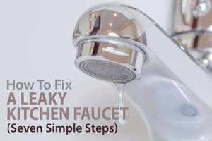 How To Fix A Leaky Kitchen Faucet Single Handle