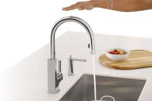 Motion Sensor Kitchen Faucet