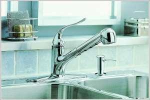 KOHLER K 15160 CP Coralais Kitchen Faucet